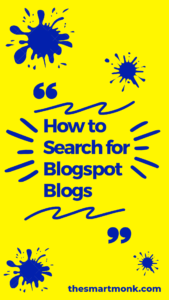 search for blogspot blogs