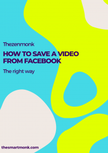 how to save a video from facebook - Save video from facebook