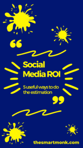 social media ROI calculation