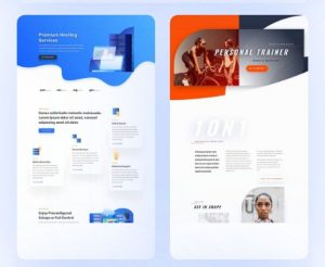 Divi wordpress theme sample