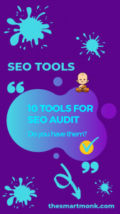 tools for SEO audit