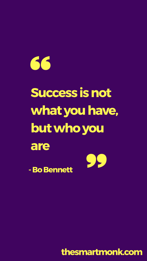 success quotes about business - bo bennet