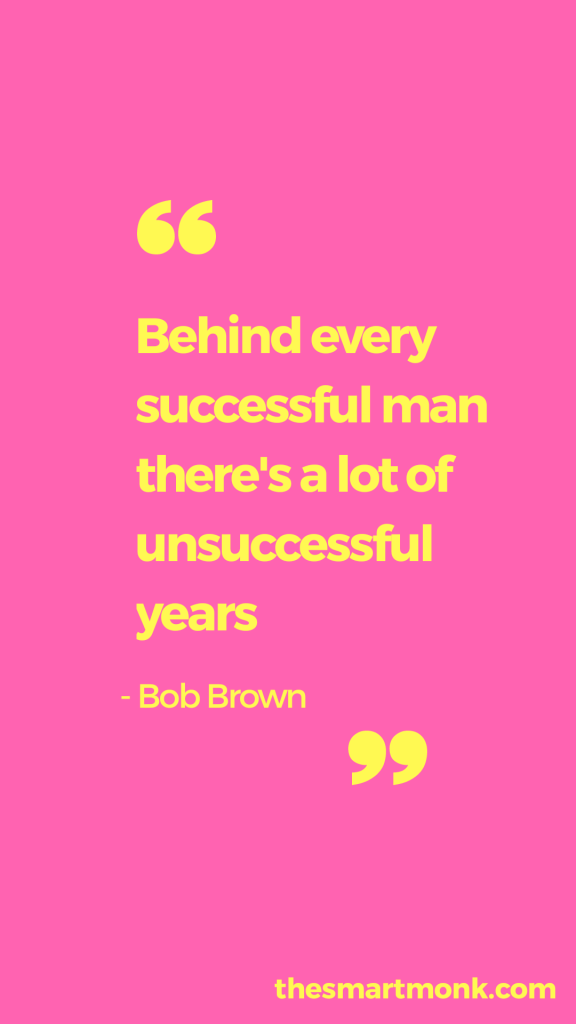 success quotes about business - bob brown