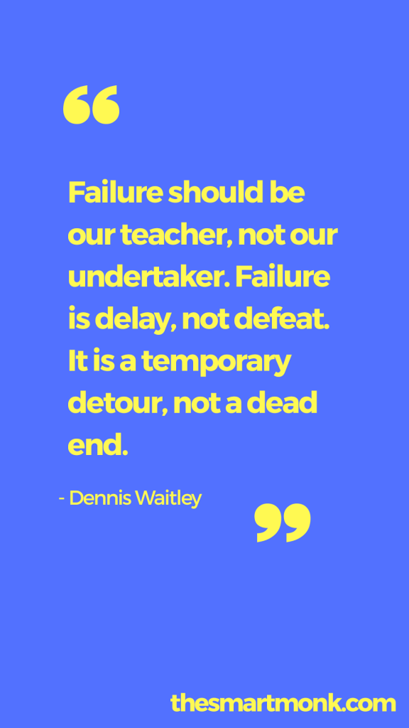 success quotes about business - dennis waitley