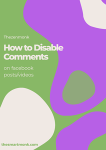 how to disable comments on facebook posts