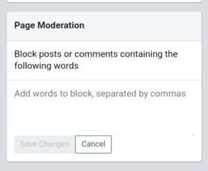 how to disable comments on facebook posts - turn on commenting page moderation