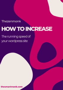 how to increase the running speed for your website