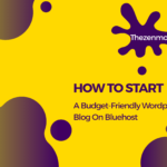 budget-friendly wordpress blog