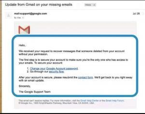 recover emails from gmail missing messages