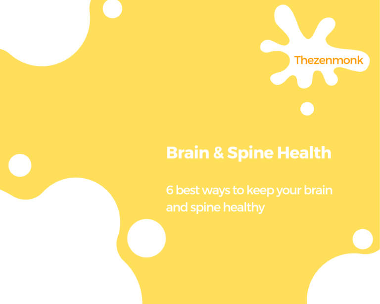 brain and spine healthy tips